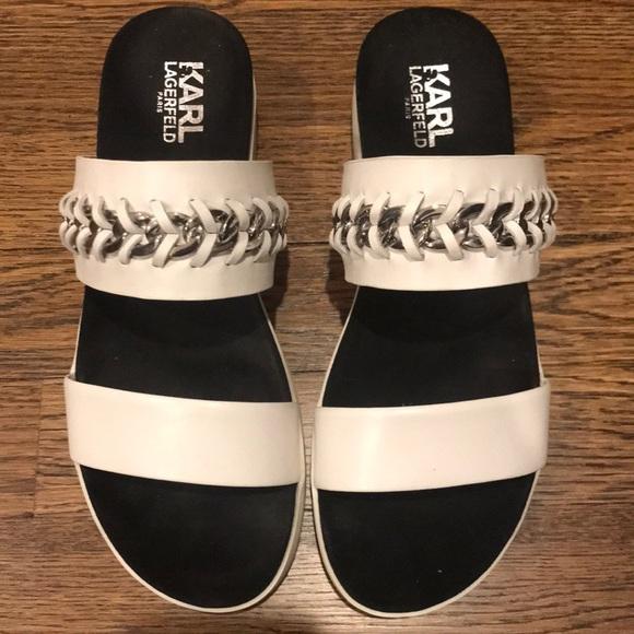 Karl Lagerfeld Shoes | Platform Chain